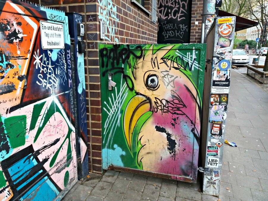 Mural in St. Pauli