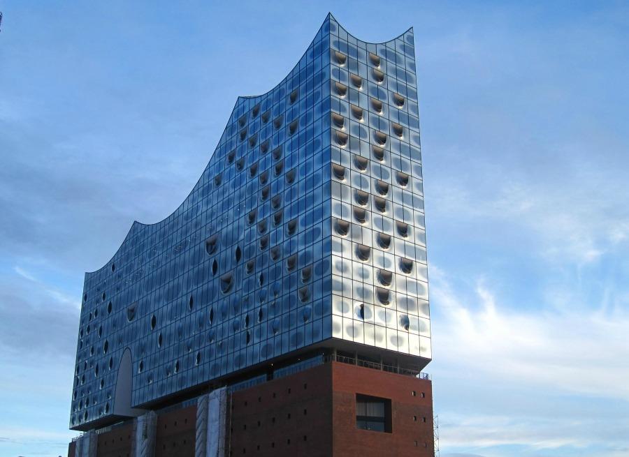 De bouw van de Elbphilharmonie