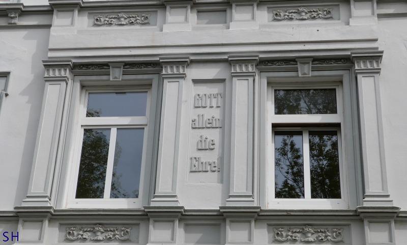 Oude Letteren in Hamburg - Thadenstrasse - Standort Hamburg