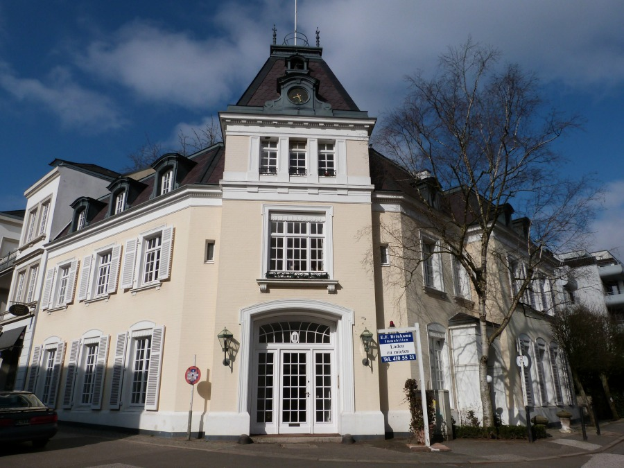 Bezienswaardigheden rond de Alster: architectuur