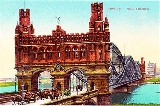 Hamburg Wilhelmsburg Brug