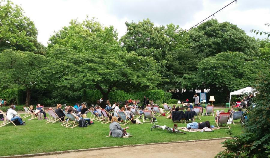 Stamp: zomerfestival in Altona