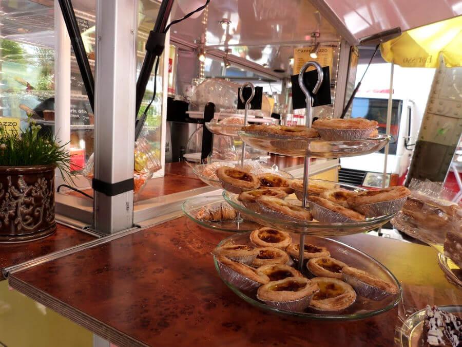 Nata's eten bij Café Pazzo