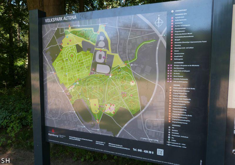 Volkspark Altona - Standort Hamburg