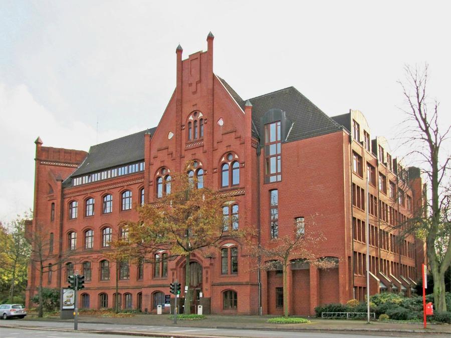 Wilhelmsburger Rathaus - Standort Hamburg