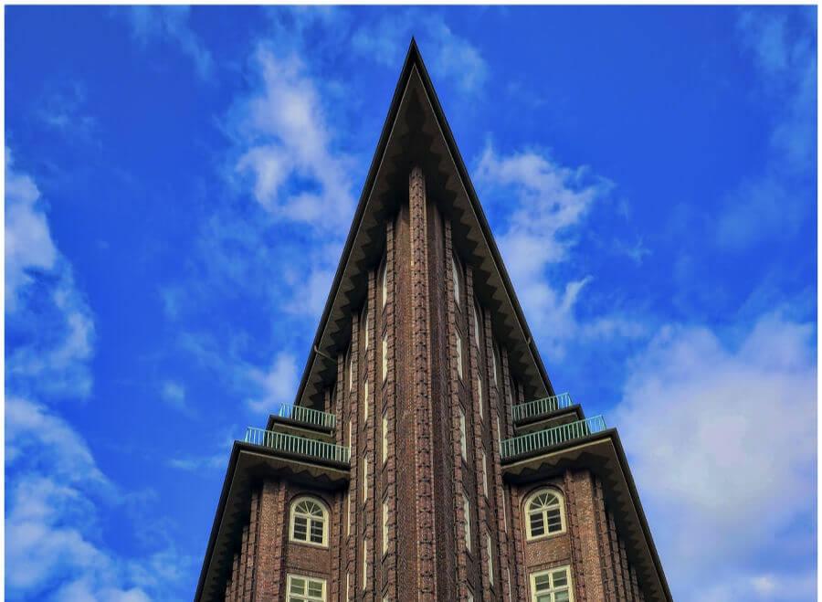 Baksteenexpressionisme in Hamburg: het Chilehaus in het Kontorhausviertel | Standort Hamburg