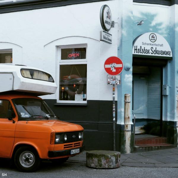 Nog een oranje variant - Standort Hamburg