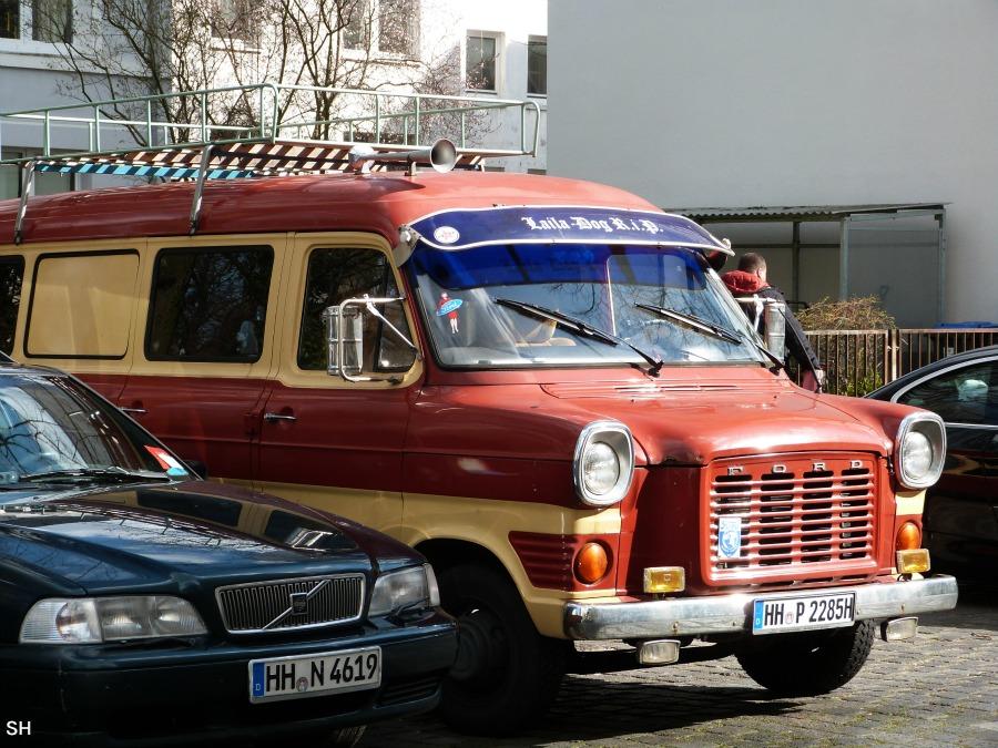 Nog zon krasse bus - Standort Hamburg