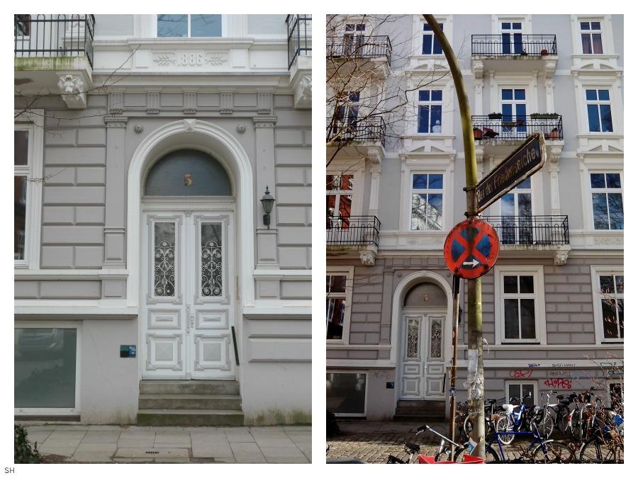 Huis van de koloniaalwarenhandelaar - Standort Hamburg