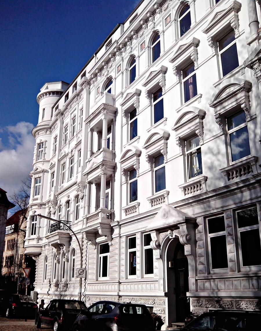 Standort Hamburg bezoekt Bei der Friedenseiche in Altona