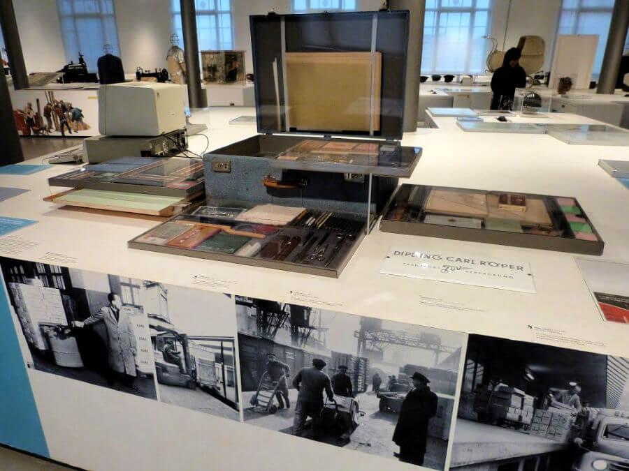 Ingenieurskoffer in het Museum der Arbeit in Hamburg | Standort Hamburg