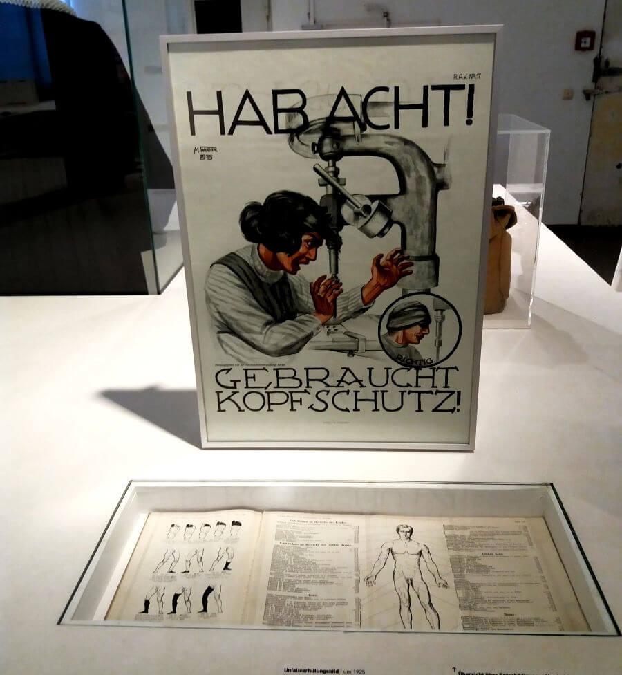 ABC der Arbeit in het Museum der Arbeit