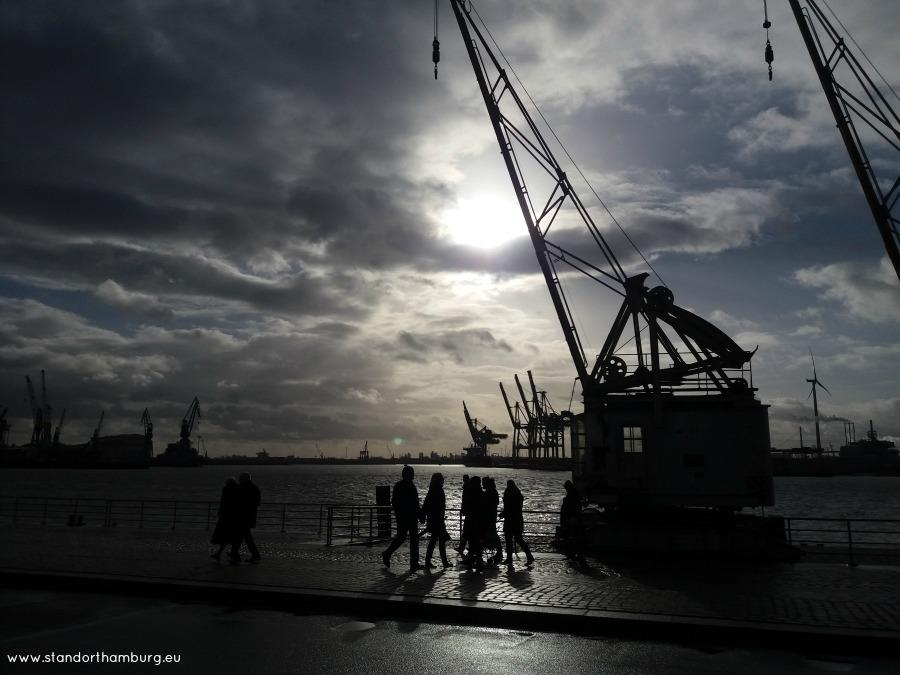 Zomaar een zondagmorgen in de haven - Standort Hamburg