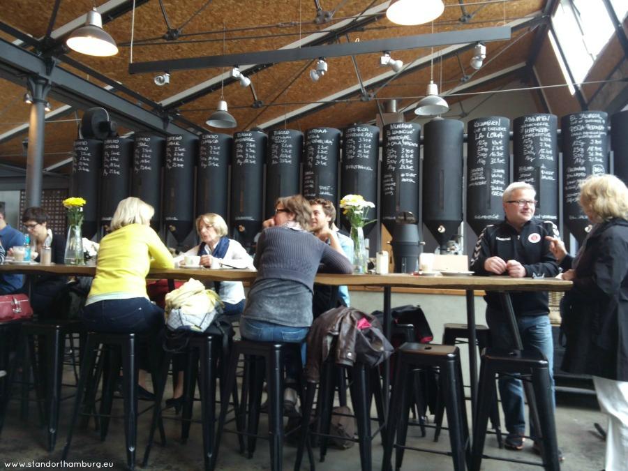 Kaffee und Kuchen in Hamburg - bij Elbgold - Standort Hamburg