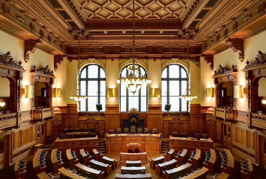 gratis bezienswaardigheden in Hamburg - Rathaus - Standort Hamburg