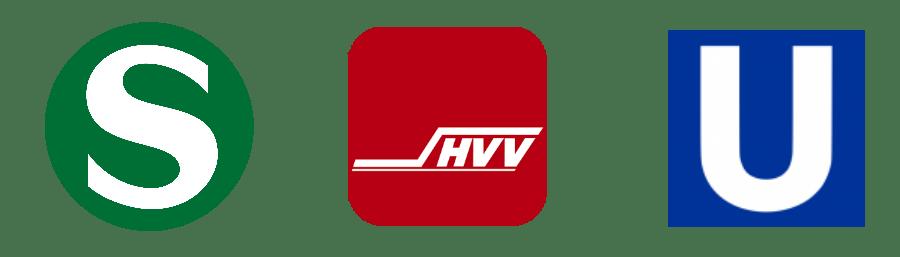 Met het openbaar vervoer door Hamburg_Standort Hamburg