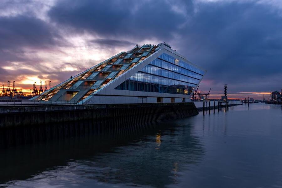 Gratis bezienswaardigheden in Hamburg: moderne architectuur bewonderen - Dockland