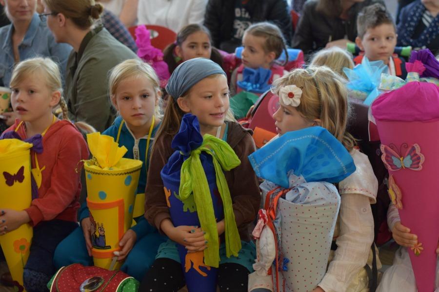 De eerste schooldag in Duitsland: het Einschulungsfest in Hamburg
