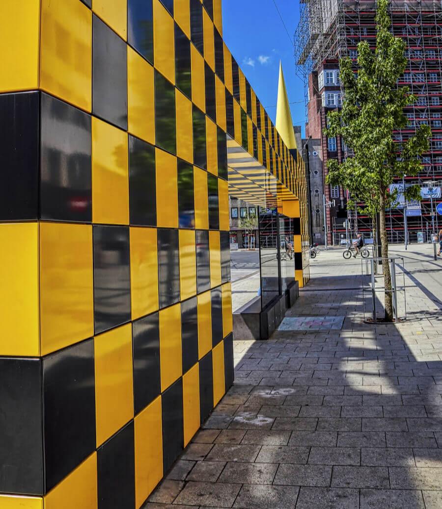Kunst in Hannover: bushokjes