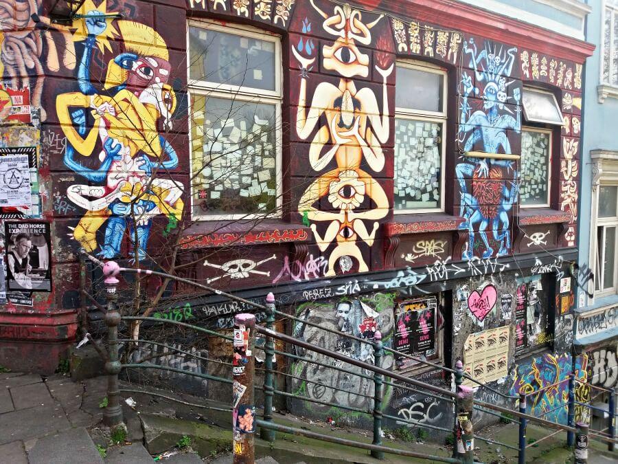 Street art in St. Pauli