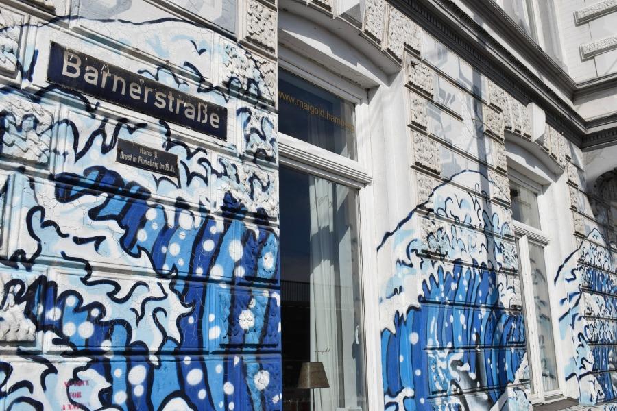 Murals in Hamburg: Barnerstraße, Ottensen