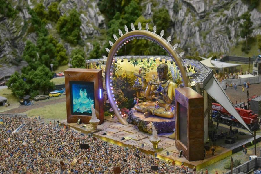 Miniatuurfestival in Miniatur Wunderland