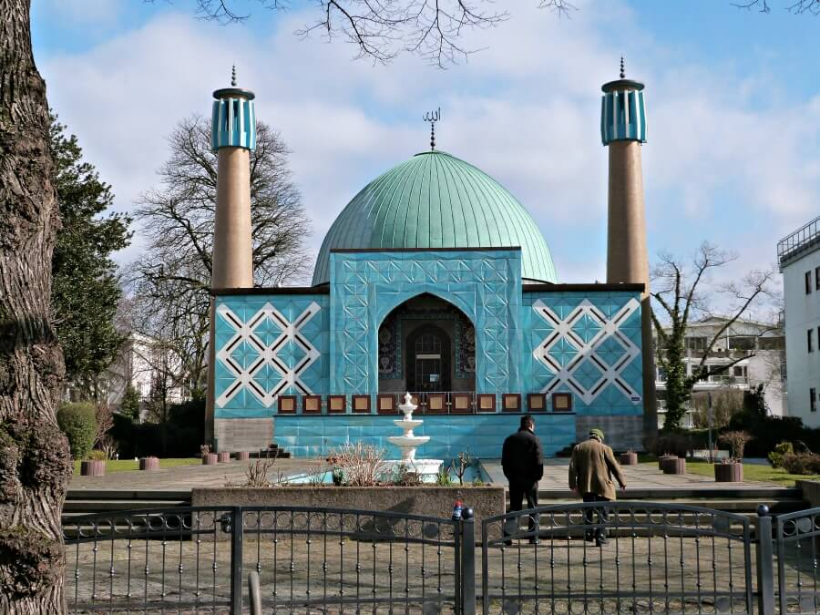 Originele stedentrip Hamburg: Imam Ali Moschee aan de Alster | Standort Hamburg