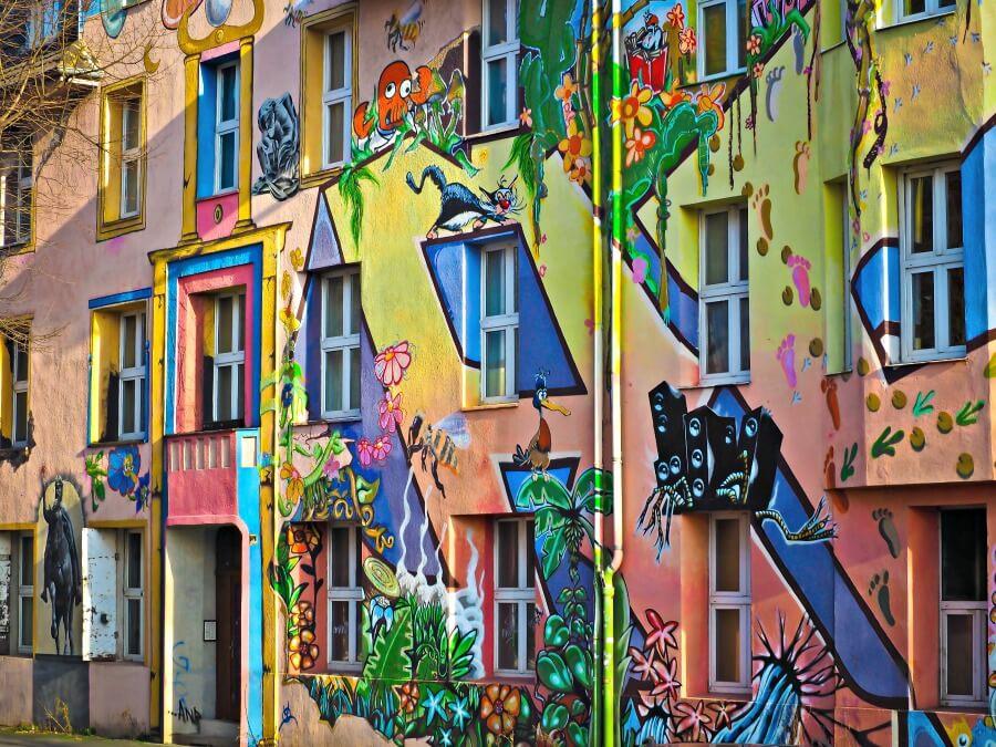 Streeet art in Düsseldorf