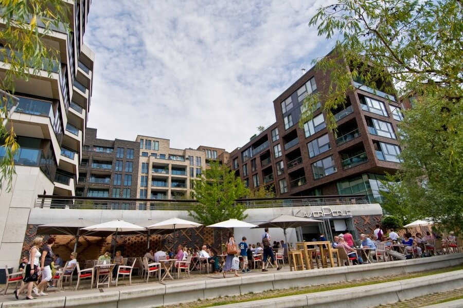 Maritiem Hamburg: lekker eten aan de Elbe