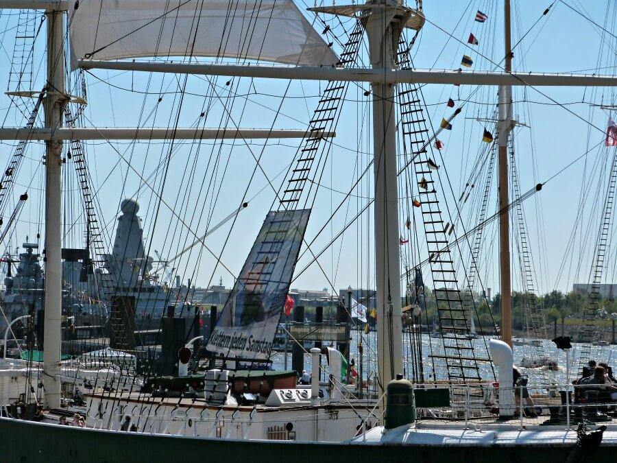 Maritiem Hamburg tijdens de Hafengeburtstag