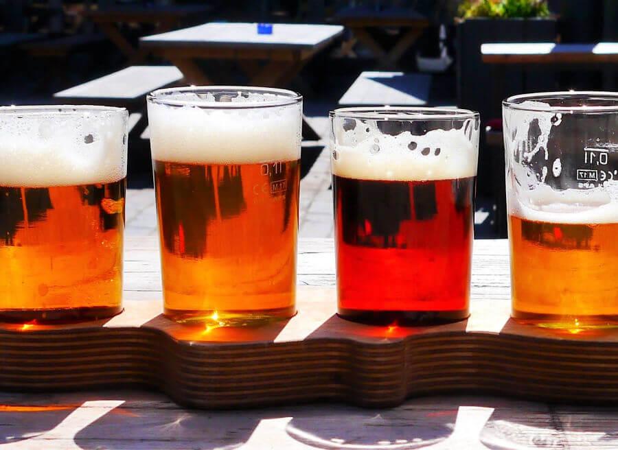 Biertje erbij in een gezellige Hamburgse Biergarten | Standort Hamburg