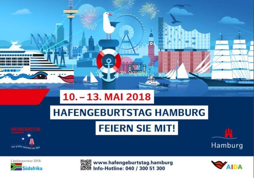 Hamburg Hafengeburtstag programma 2018