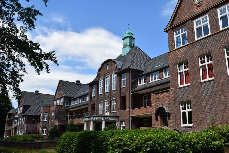 Baksteenarchitectuur in Hamburg: Altonaer Kinderkrankenhaus