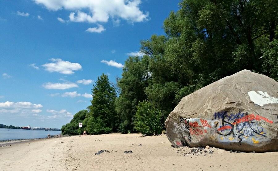 Doen in Hamburg: naar het strand | Standort Hamburg