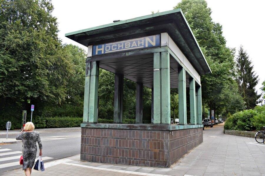 Opvallende en fotogenieke stations in Hamburg: Klosterstern