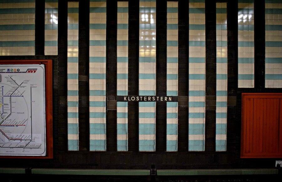 Fotogenieke stations in Hamburg: Klosterstern