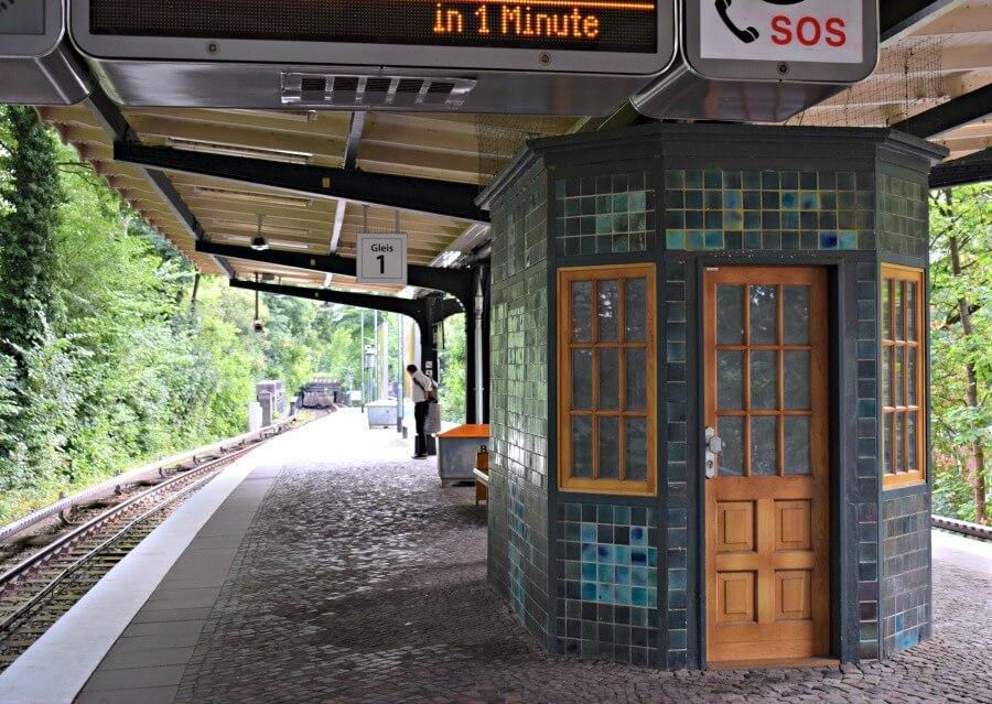 Opvallende stations in Hamburg: Sierichstraße