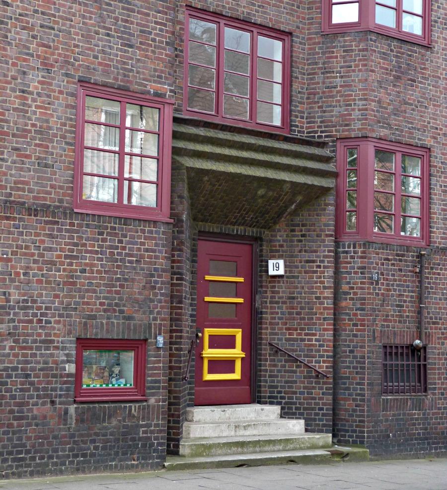 Deuren in Hamburg: Baksteen | Standort Hamburg