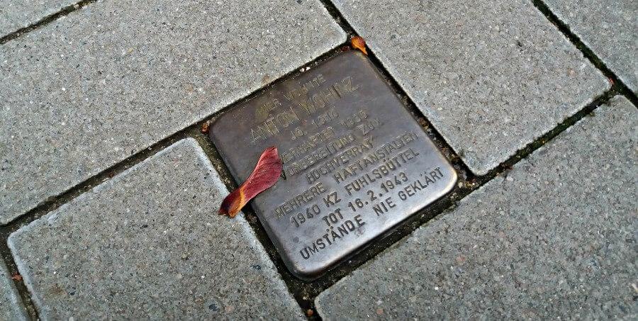 Stolpersteine in Hamburg Altona, Anton Wohinz