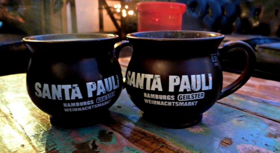 Kerst in Hamburg: Glühwein op Santa Pauli