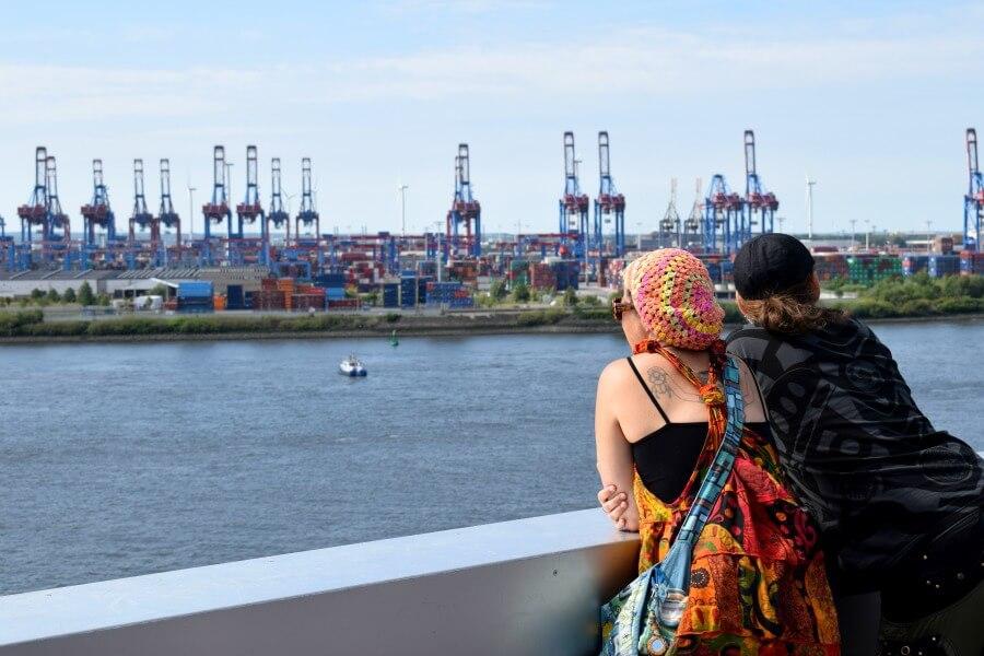 Fotospots Hamburg: uitkijkpunten