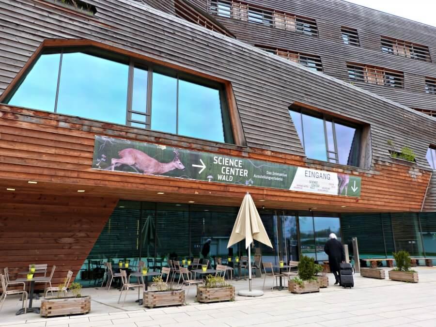 Wälderhaus hotel aan het Inselpark in Wilhelmsburg