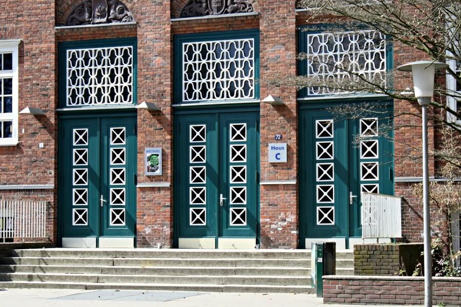Fotospots in Hamburg: deuren