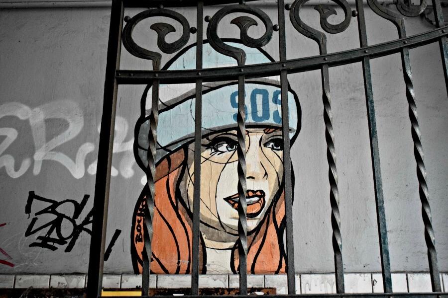 Bezoek Hamburg in januari: street art
