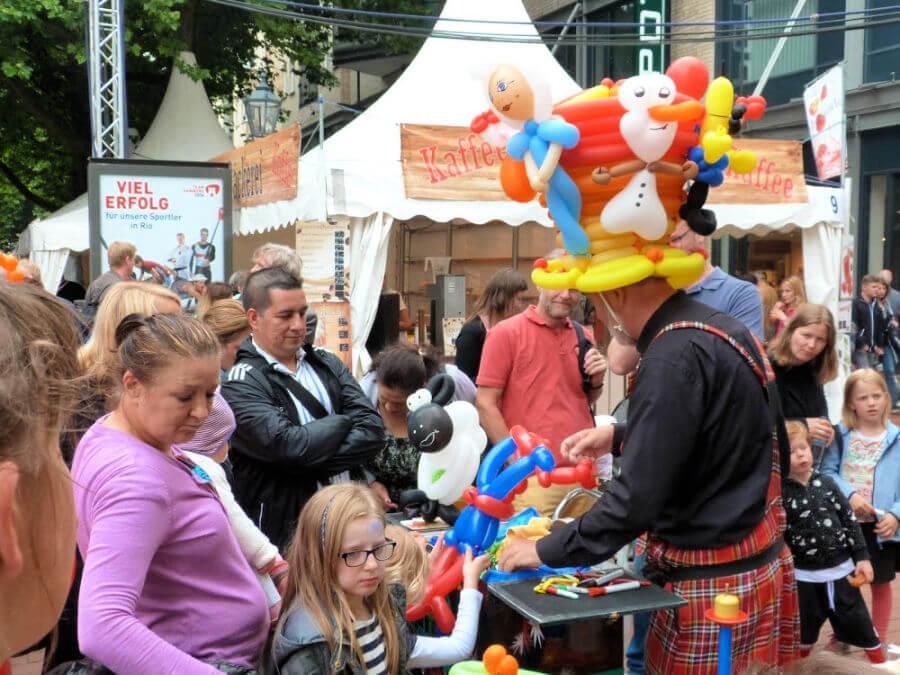 Stedentrip Hamburg met kinderen: Straßenfest