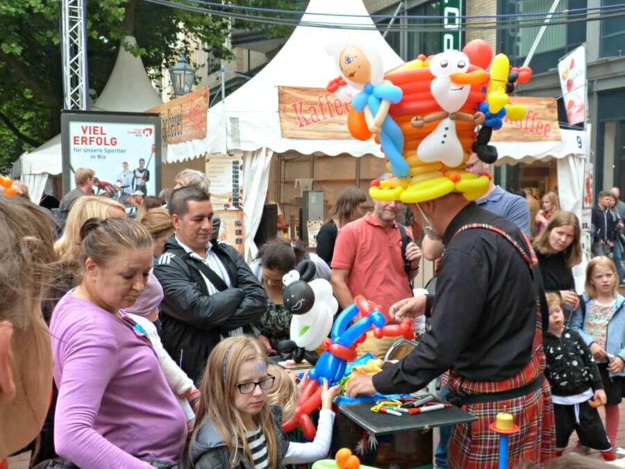 Hamburger Straßenfest met de hele familie