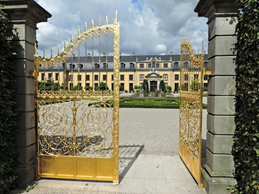 Bezoek aan de Herrenhäuser Gärten in Hannover
