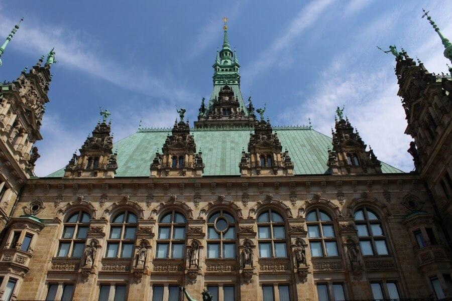 Historische gebouwen in Hamburg: Rathaus