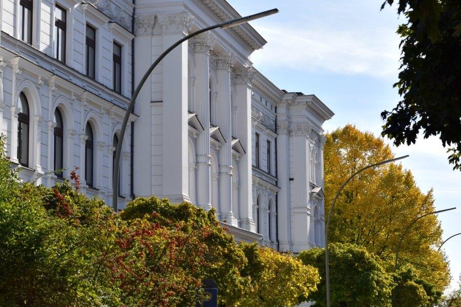De herfst fotograferen in Hamburg: architectuur