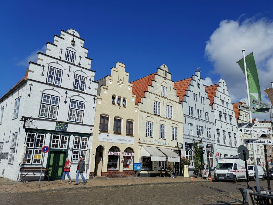 Hollands stadje in Duitsland: Friedrichstadt